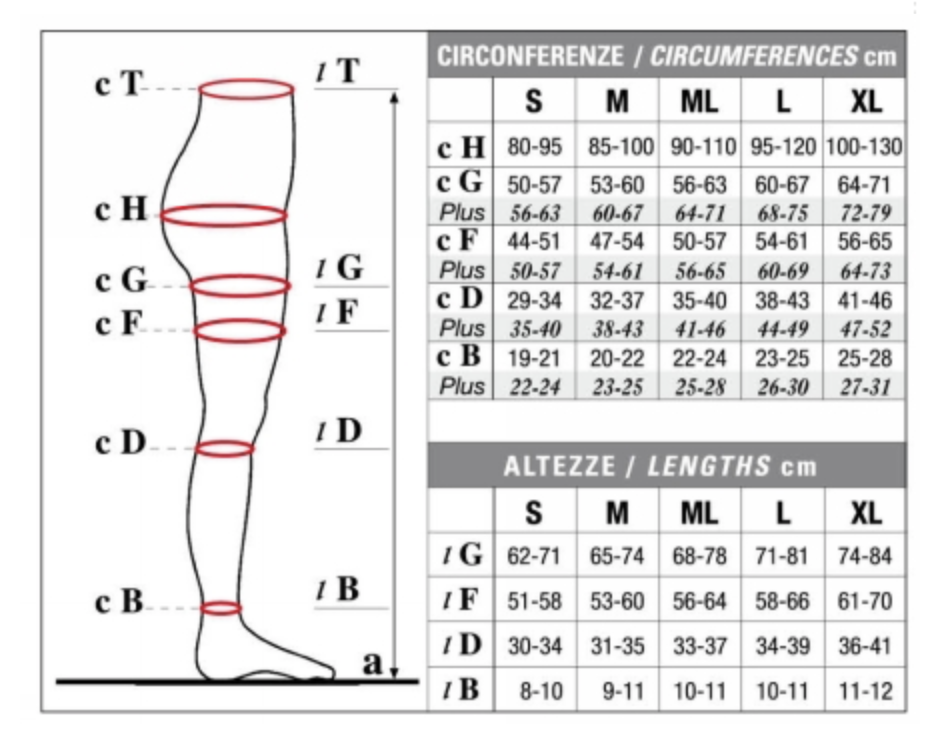 CLASS 1 COMPRESSION STOCKING FOR MEN